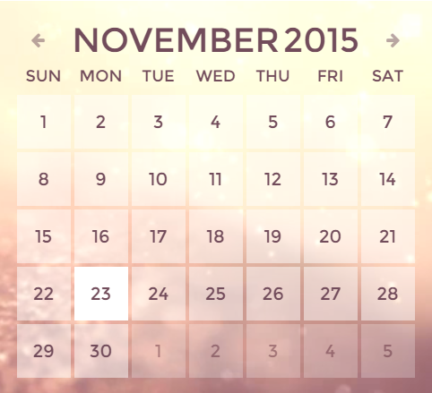 How to work with RD Calendar - Zemez HTML