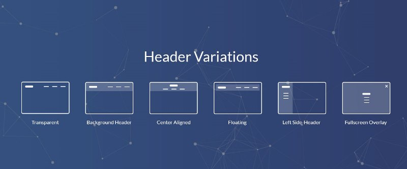 Multipurpose website templates how to manage header layouts header layouts maxwellsz