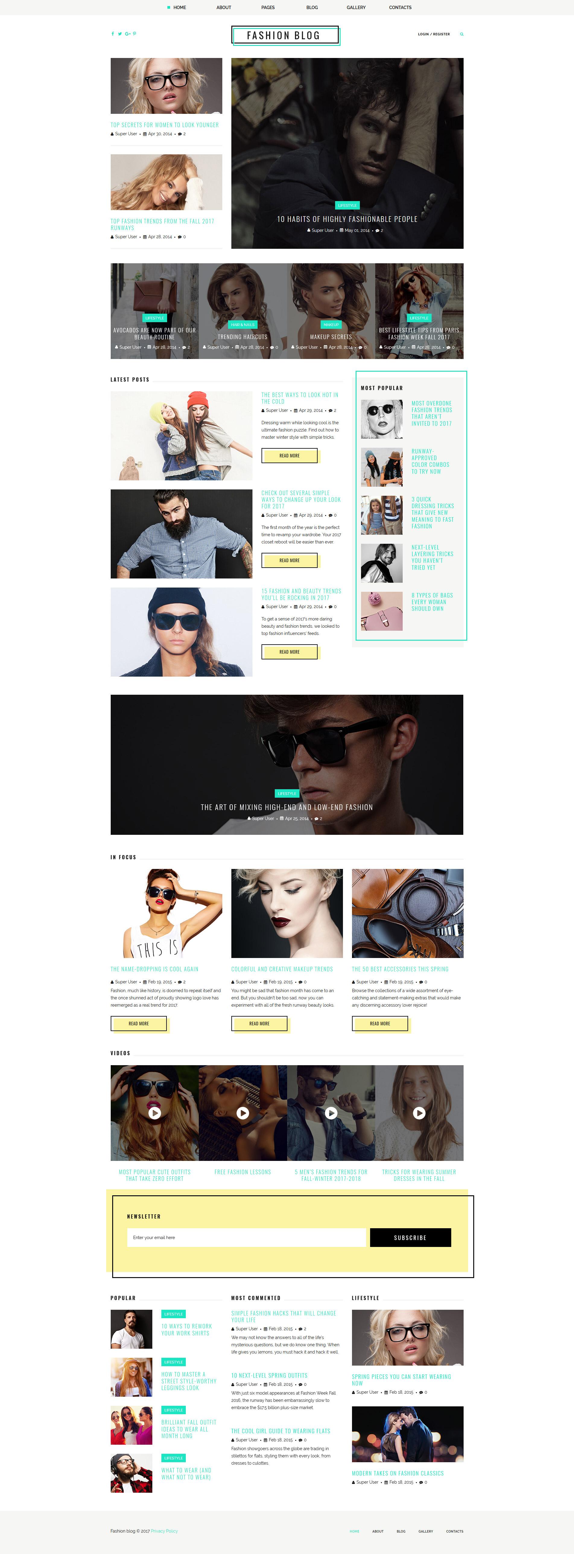 Fashion   Beauty Archives - Page 2 of 7 - Zemez Joomla 1f6438354625