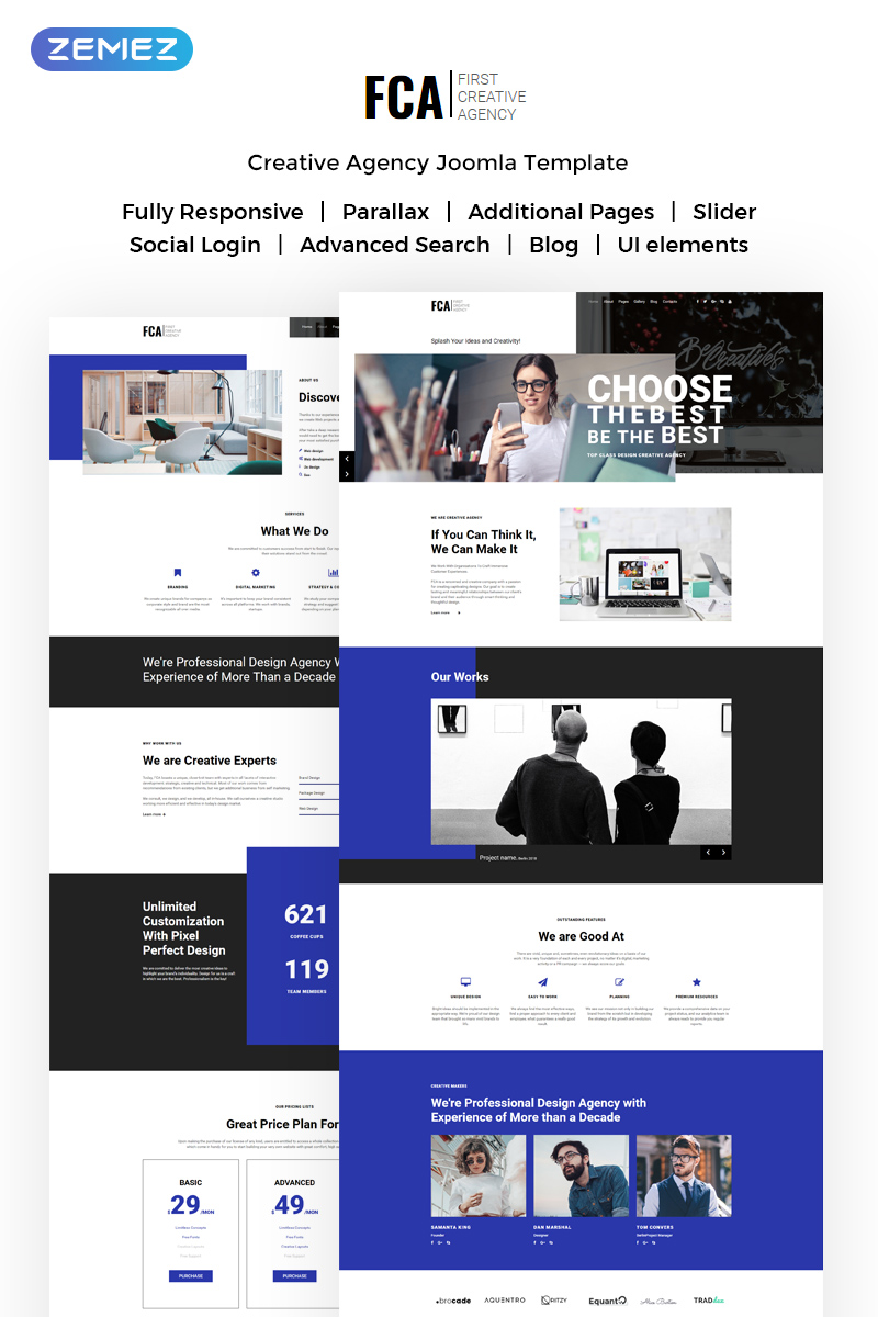 trucking templates archives page 3 of 5 zemez joomla