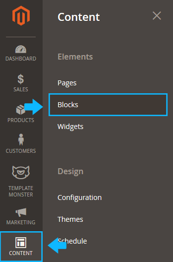 add static block magento