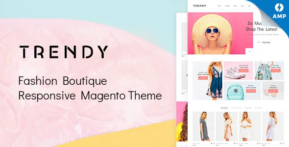 Trendy - Fashion Boutique Magento Theme