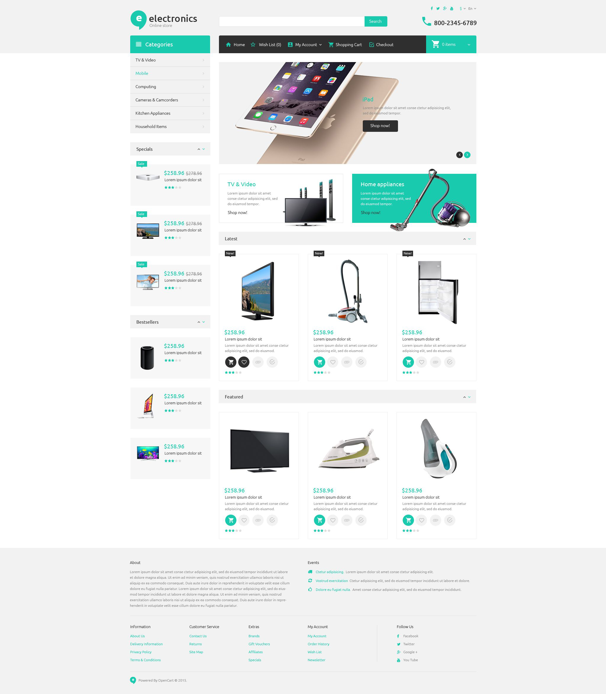 Electronics Templates Archives Page 3 Of 4 Zemez Opencart