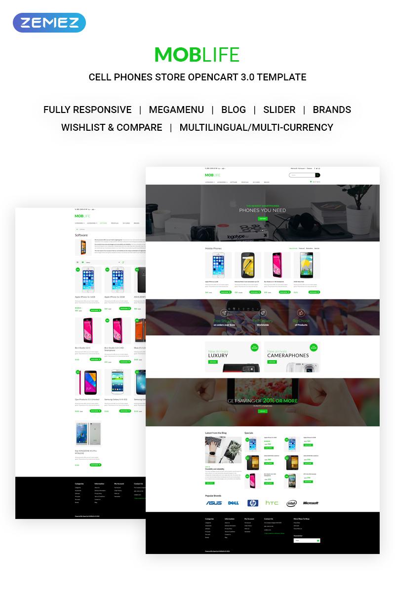 Mobile Store Templates Archives Zemez Opencart