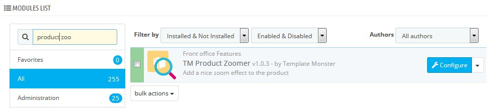 Prestashop 1 6 X How To Manage Tm Product Zoomer Module