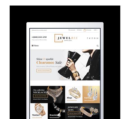 Jewelrix Shopify Template