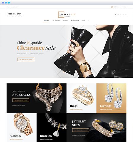 Jewelrix Shopify Theme