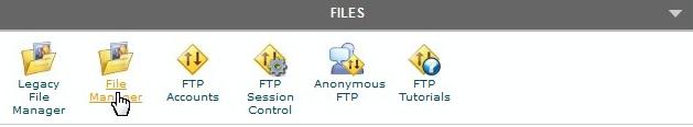 upload WordPress using SiteGround hosting server cPanel file manager