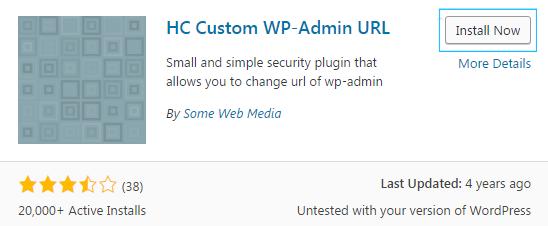 change admin folder name