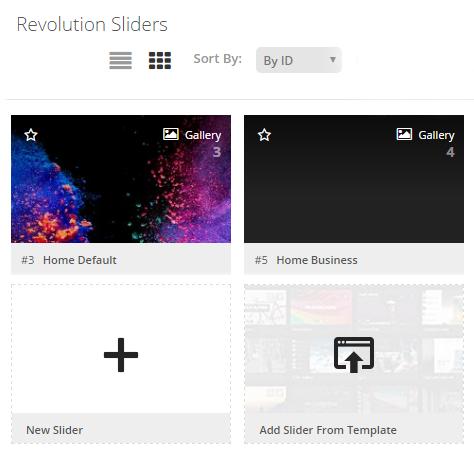 How to create slider using Revolution Slider Plugin