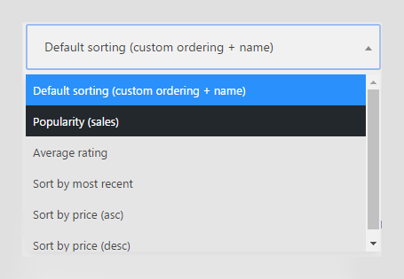 How to Change Product Sorting in a WooCommerce Theme