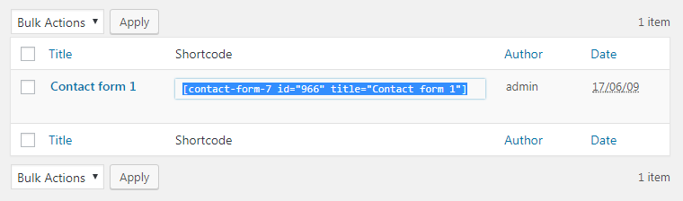 """How to Solve""""Contact Form Not Found"""" Error"""