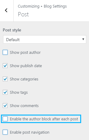 """Removing """"Written By"""" Section and Post Author from Posts Page"""