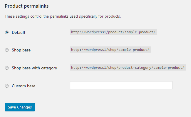 Manage Online Store Permalinks