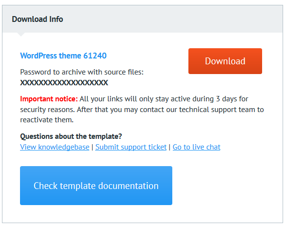 Titorials -How to Download Template from TemplateMonster Marketplace