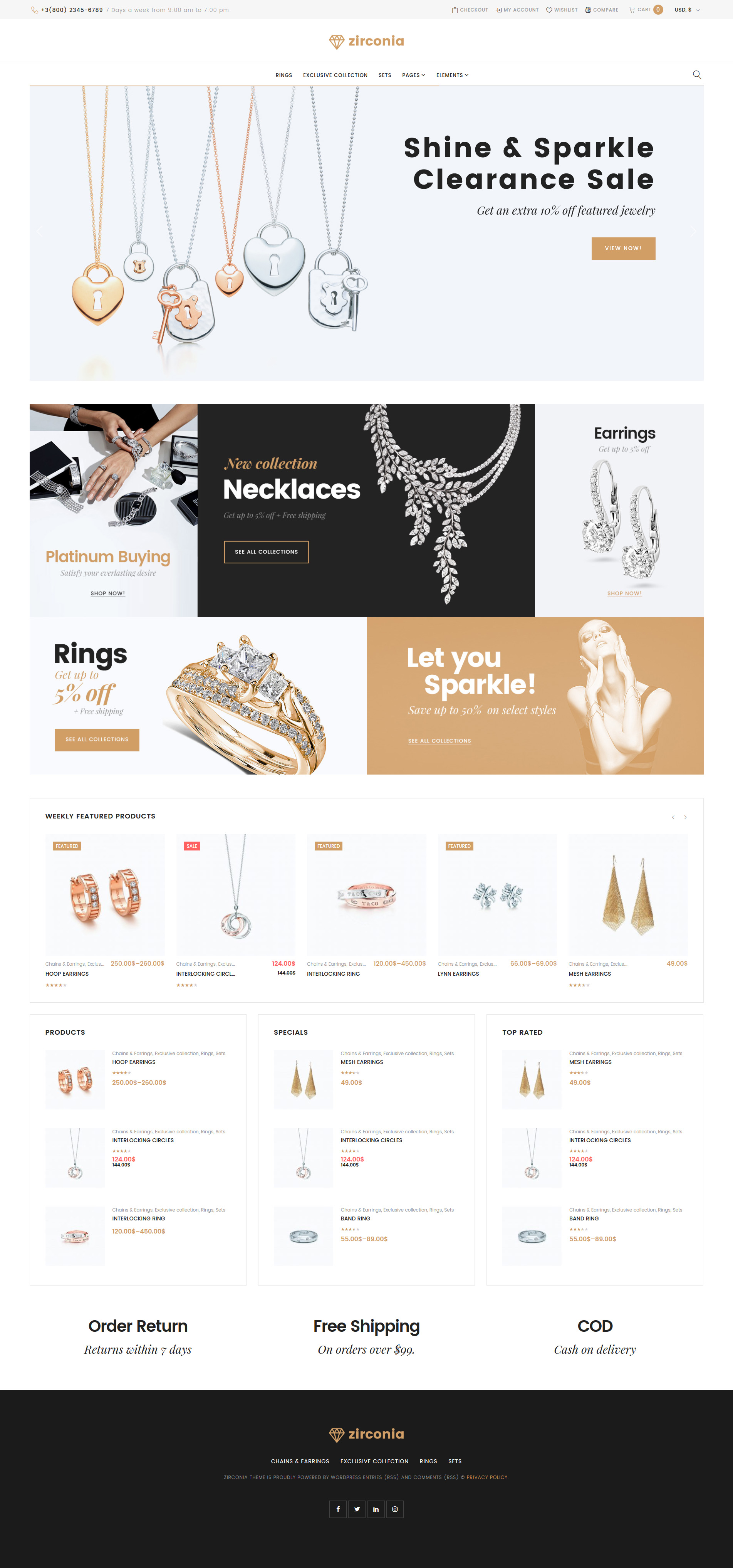 jewelry templates archives zemez wordpress. Black Bedroom Furniture Sets. Home Design Ideas