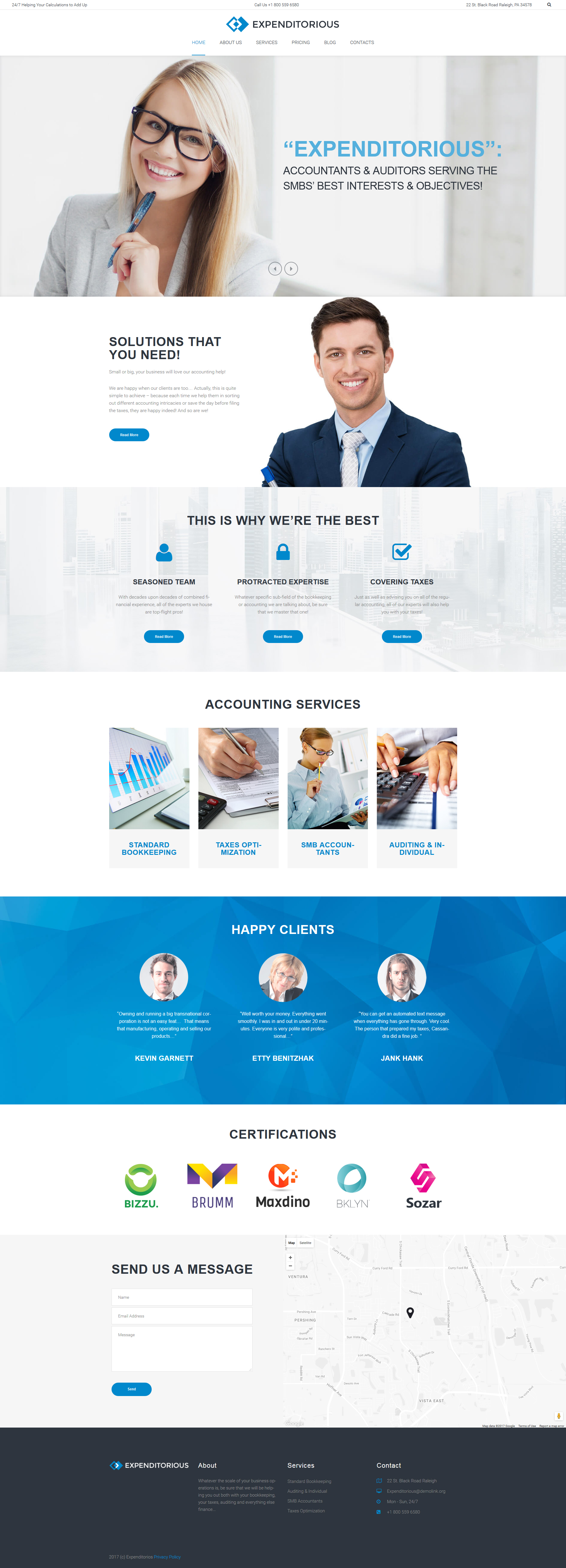 accounting website templates archives zemez wordpress. Black Bedroom Furniture Sets. Home Design Ideas