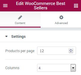 WooCommerce Bestsellers JetElements Module for Elementor