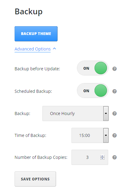 Backup Using JetImpex Dashboard Plugin