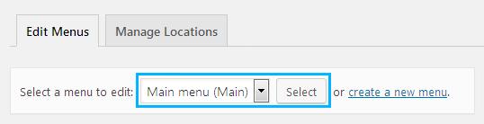 Create Menus Using TM Mega Menu
