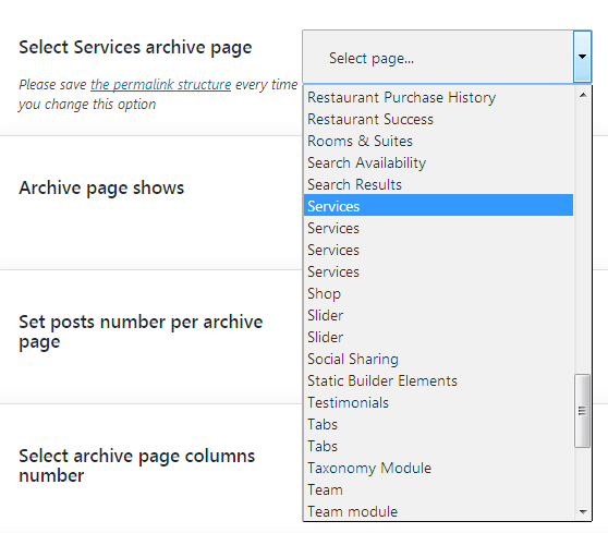 Select Cherry Services Archive Page