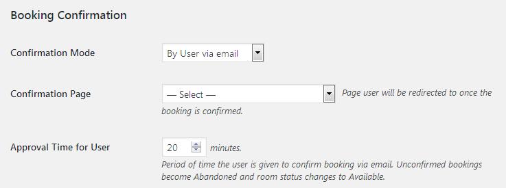 Managing Accommodation Settings