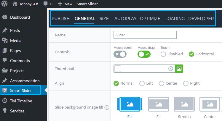 Tutorials -How to Set Smart Slider 3 General Settings