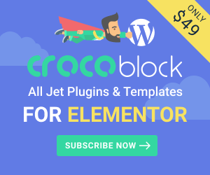 CrocoBlock - everything to make any WordPress site