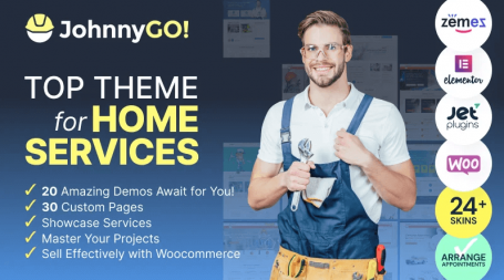 home services multipurpose WordPress theme