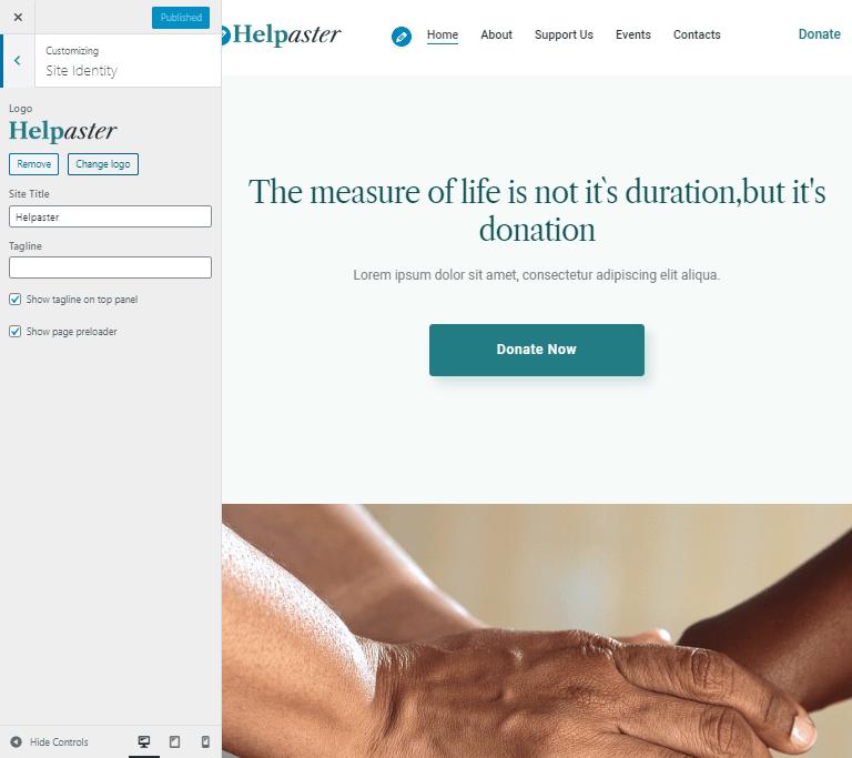 best charity theme WordPress