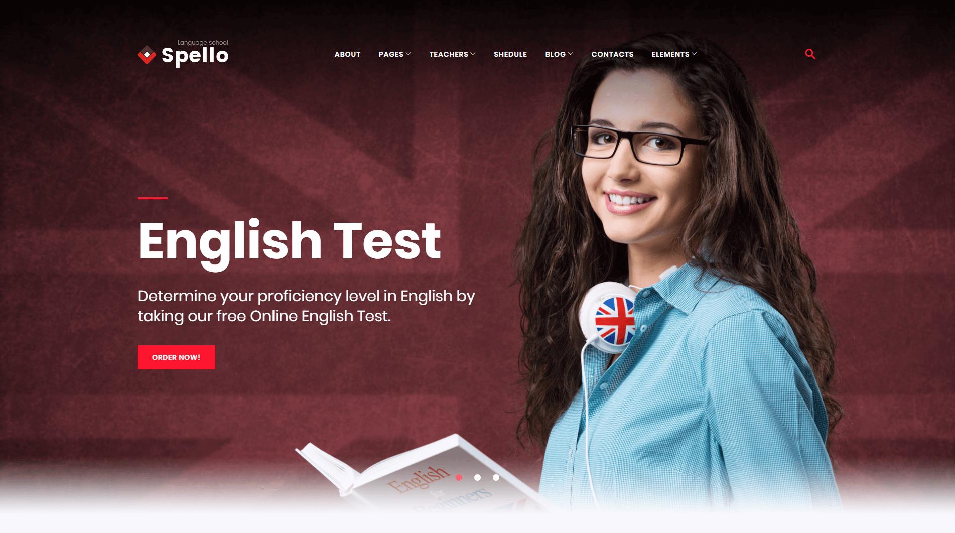 wordpress school website themes