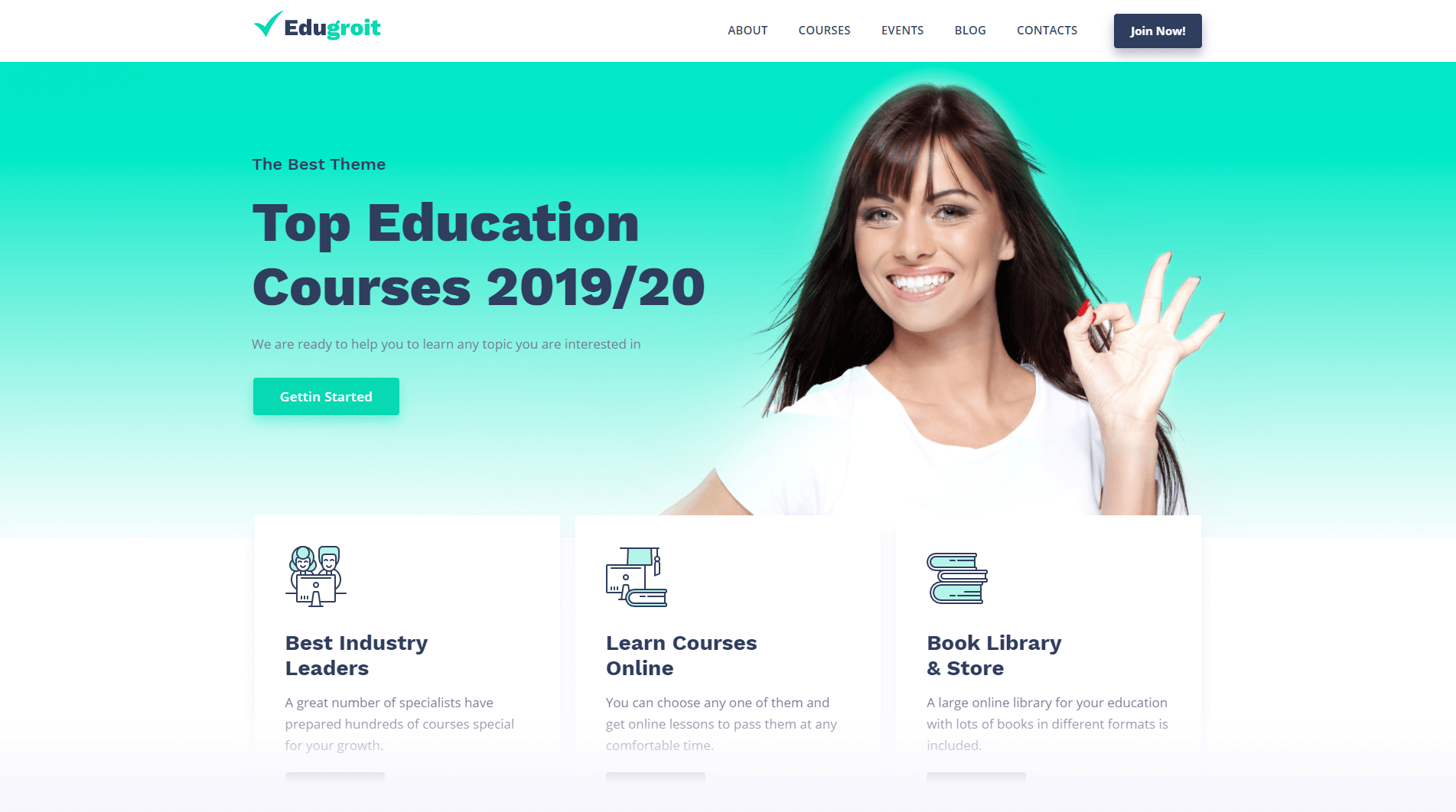 wordpress school website themes