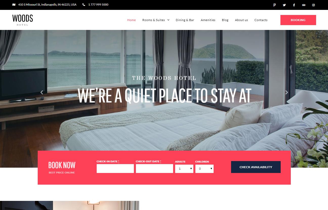 wordpress theme travel agency booking
