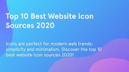 Website icon sources.