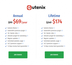 Gutenix WordPress theme