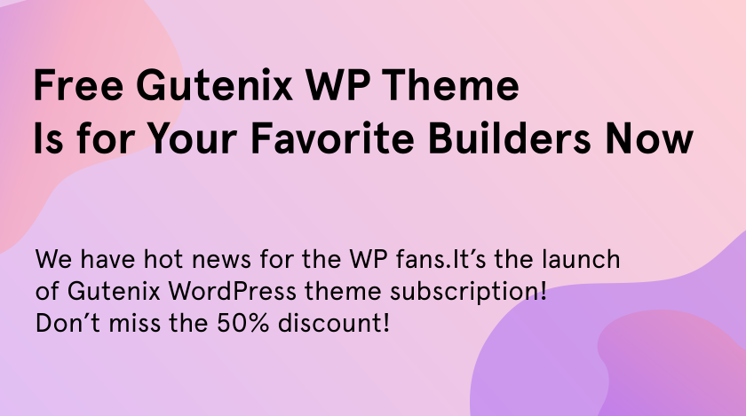 Gutenix WordPress theme.