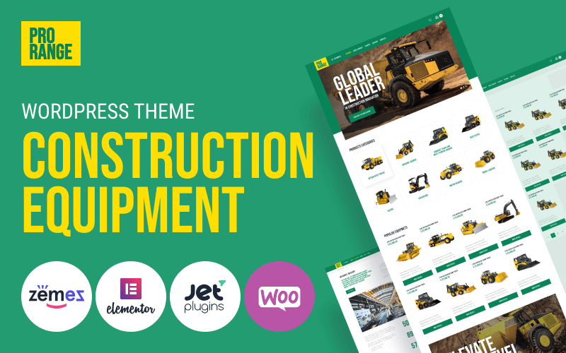 best construction themes for WordPress