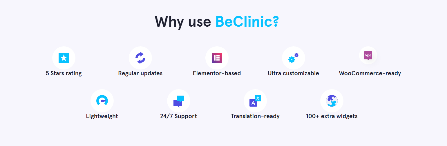 Why use BeClinic?