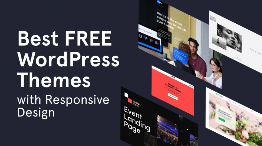 free WordPress themes responsive