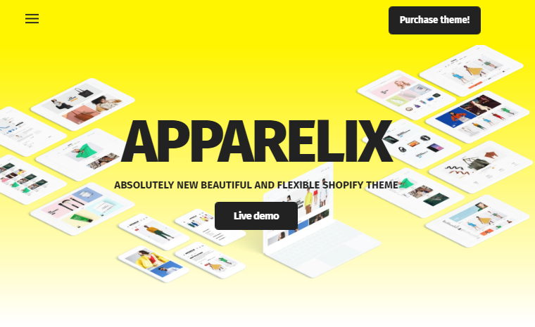 apparelix shopify theme