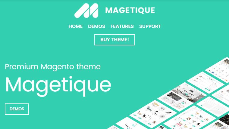 magetique magento 2 theme