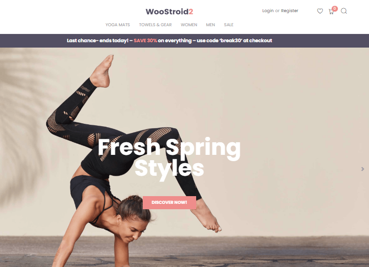 woostroid wocommerce theme