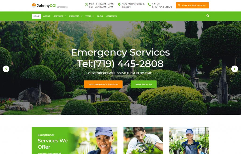 home services multipurpose WordPress theme