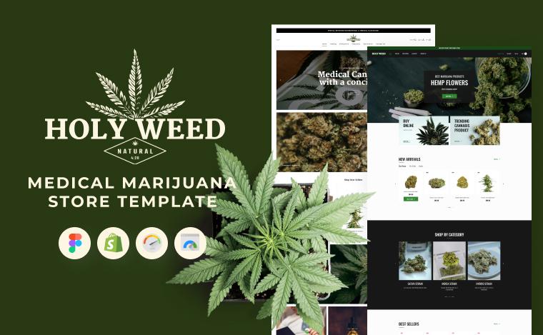medical marijuana store template