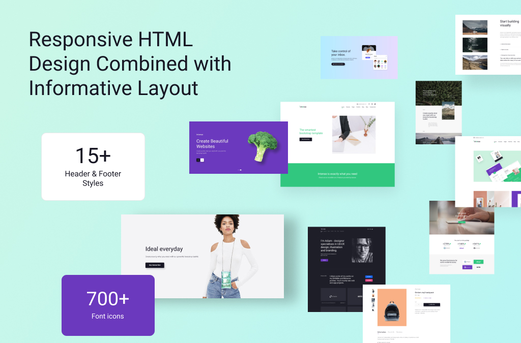 Best Multipurpose HTML Template: Responsive Design