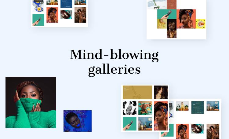 photography WordPress theme gallery