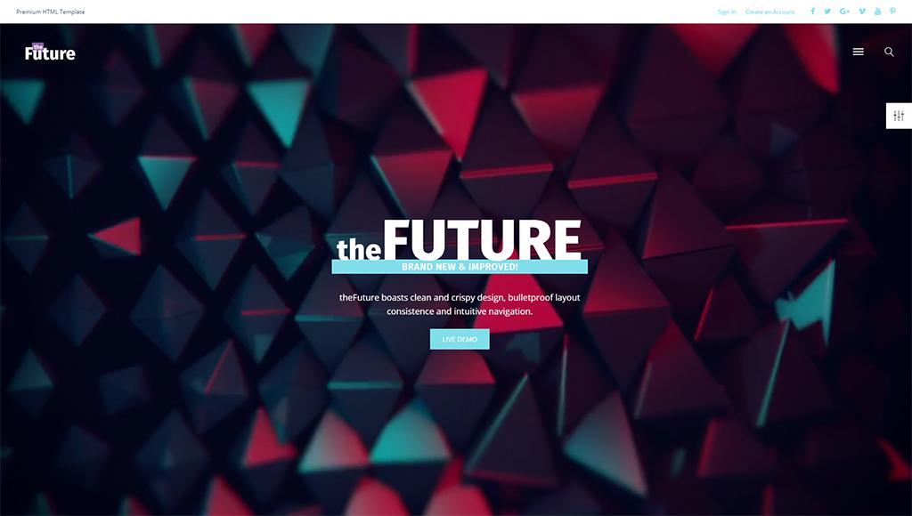 theFuture - Web Design Multipurpose HTML5 Website Template