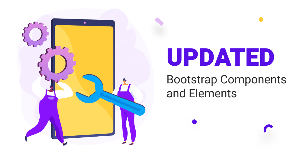 Bootstrap 5 Release: Updated Bootstrap Components and Elements