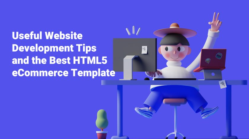 How to Create a HTML5 Website: Best HTML5 eCommerce Template