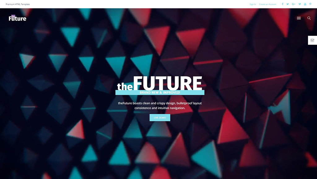 theFuture - Bootstrap 5 Premium Templates for Web Design Agency